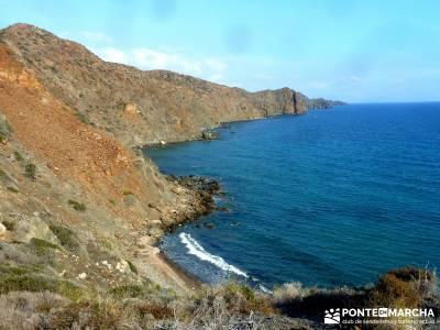 Calblanque y Calnegre - Cabo Tiñoso; vacaciones senderismo; viajes fiesta;rutas buitrago de lozoya